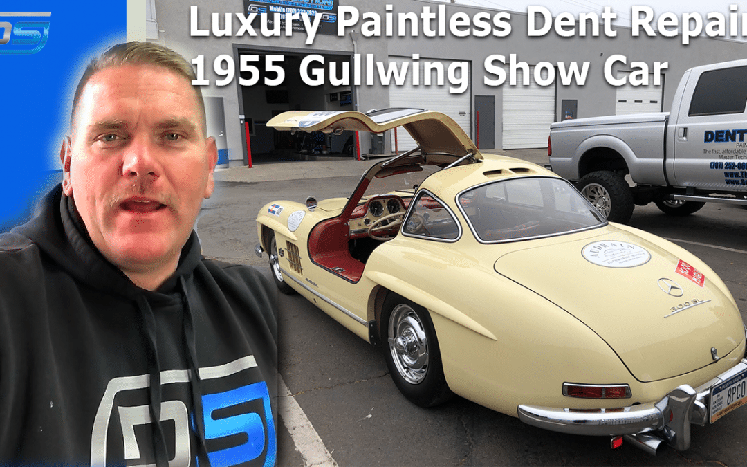 (Video) Napa, CA Luxury Show Car Dent Removal With Paintless Dent Repair